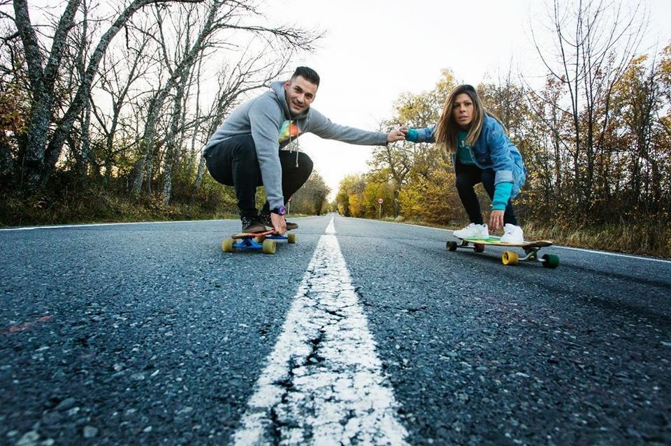 Colgante skaters
