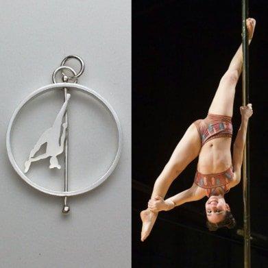 Pole dancers personalizados a partir de fotos