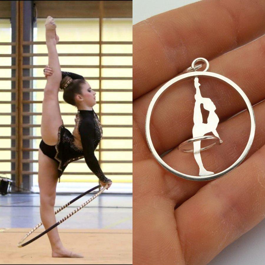 La evolución de una gimnasta