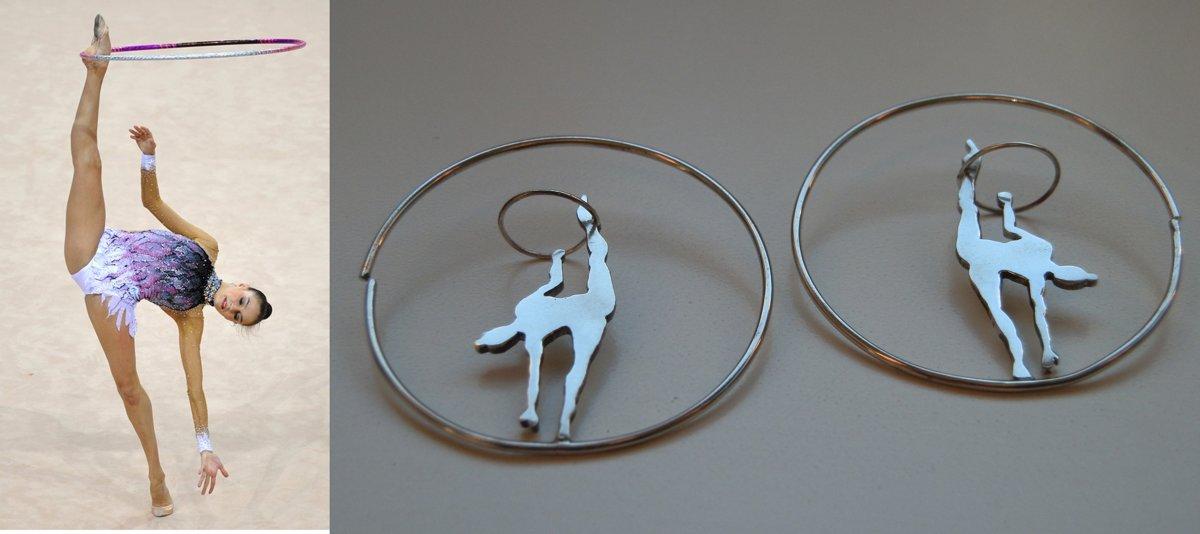 Aros de gimnasta con aro