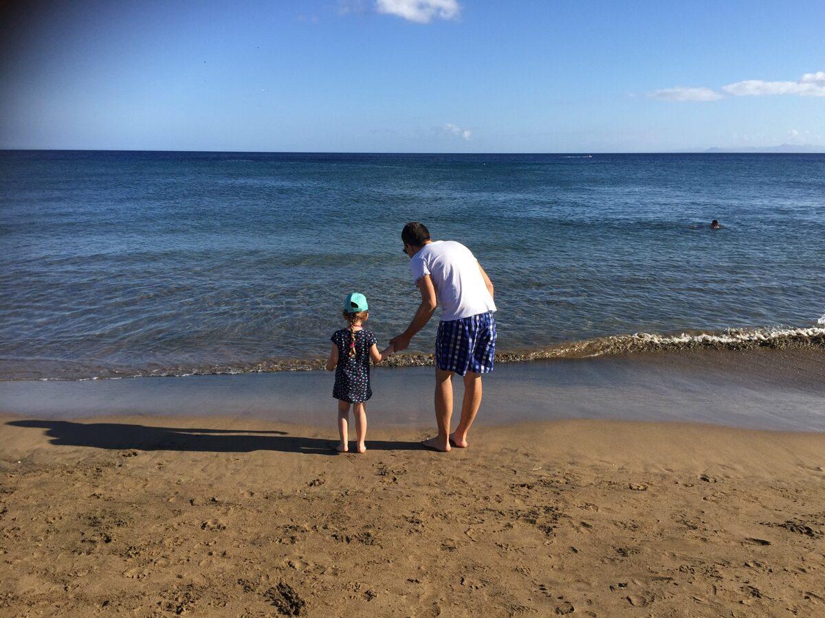 Primer día en el mar
