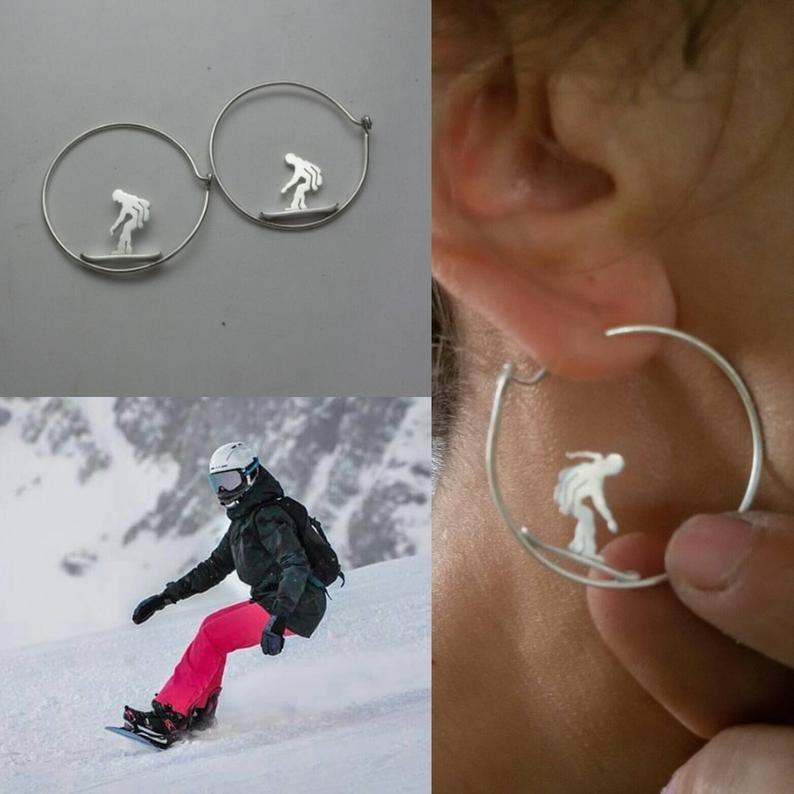 Pendientes Snowboarder